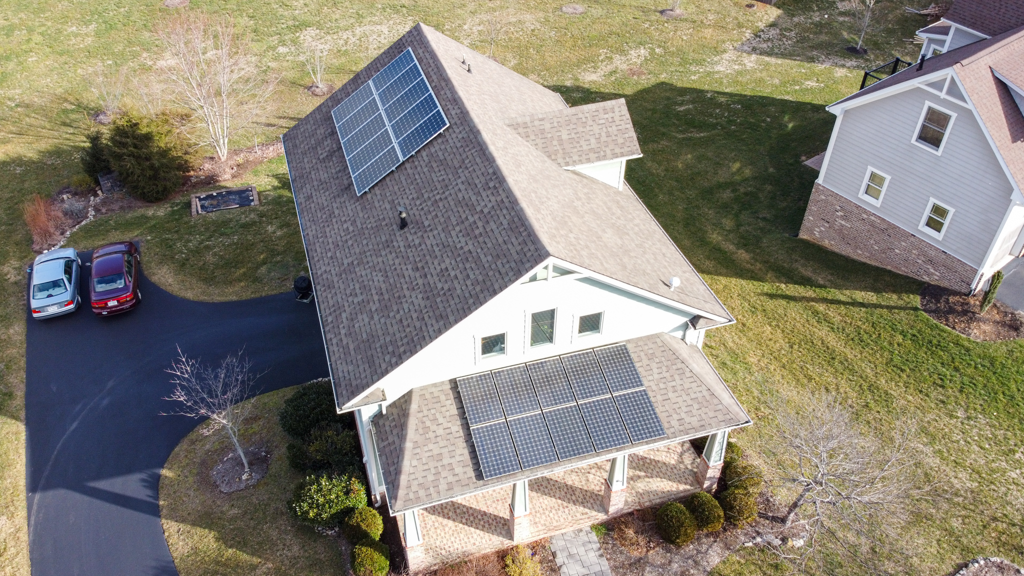 roof mount solar array